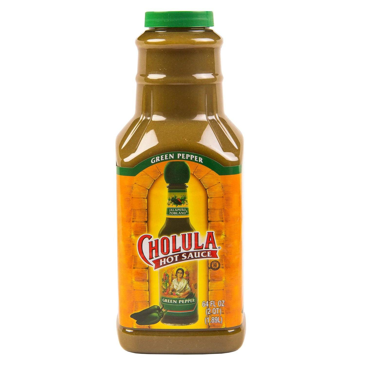 Cholula Hot Sauce Cholula Green Pepper 64 Fluid Ounce