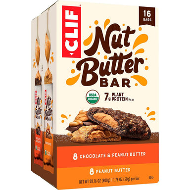 Clif Nut Butter Protein Bar Clif Bar Variety 1.76 Oz-16 Count