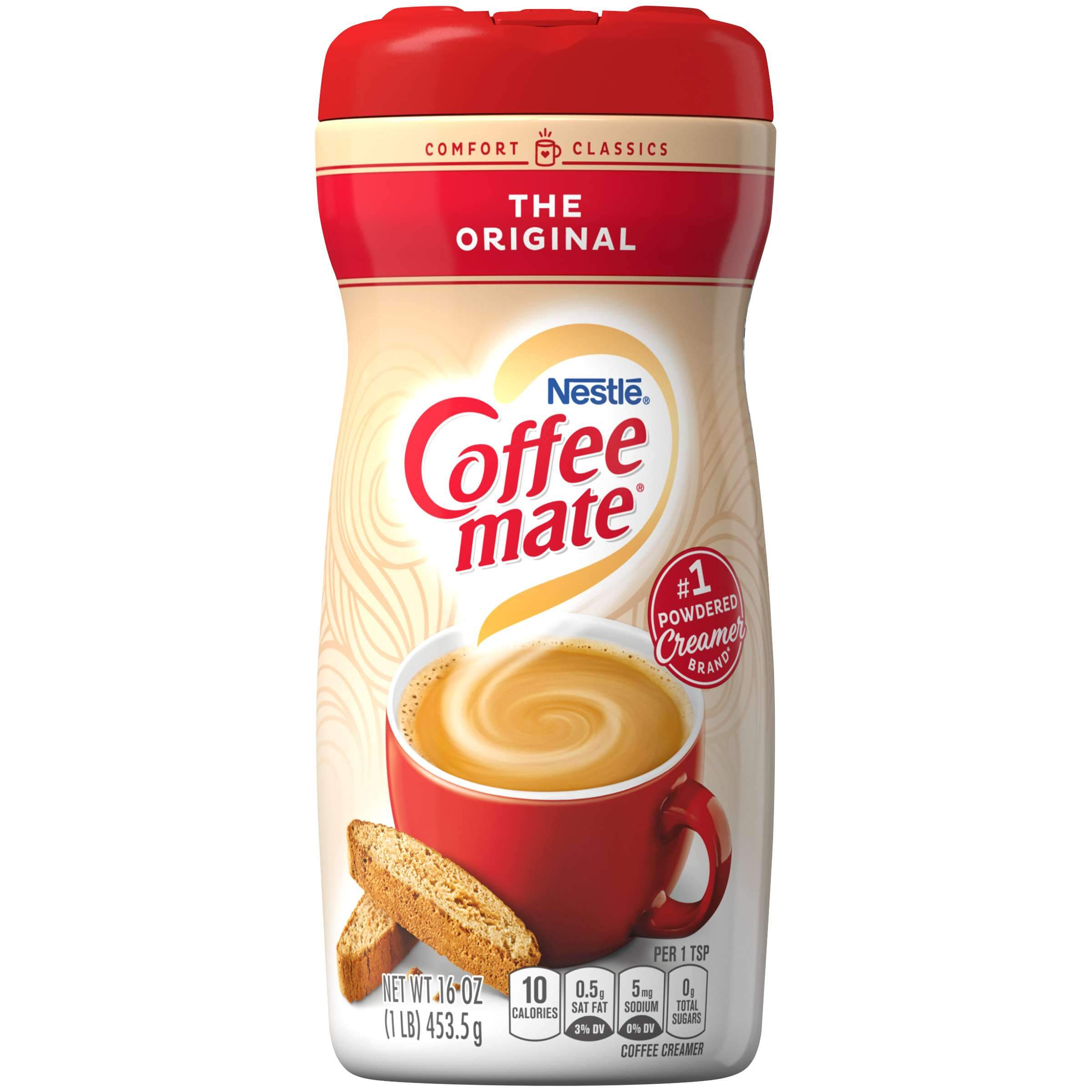 Coffee-mate Powder Creamer Nestle The Original 16 Ounce