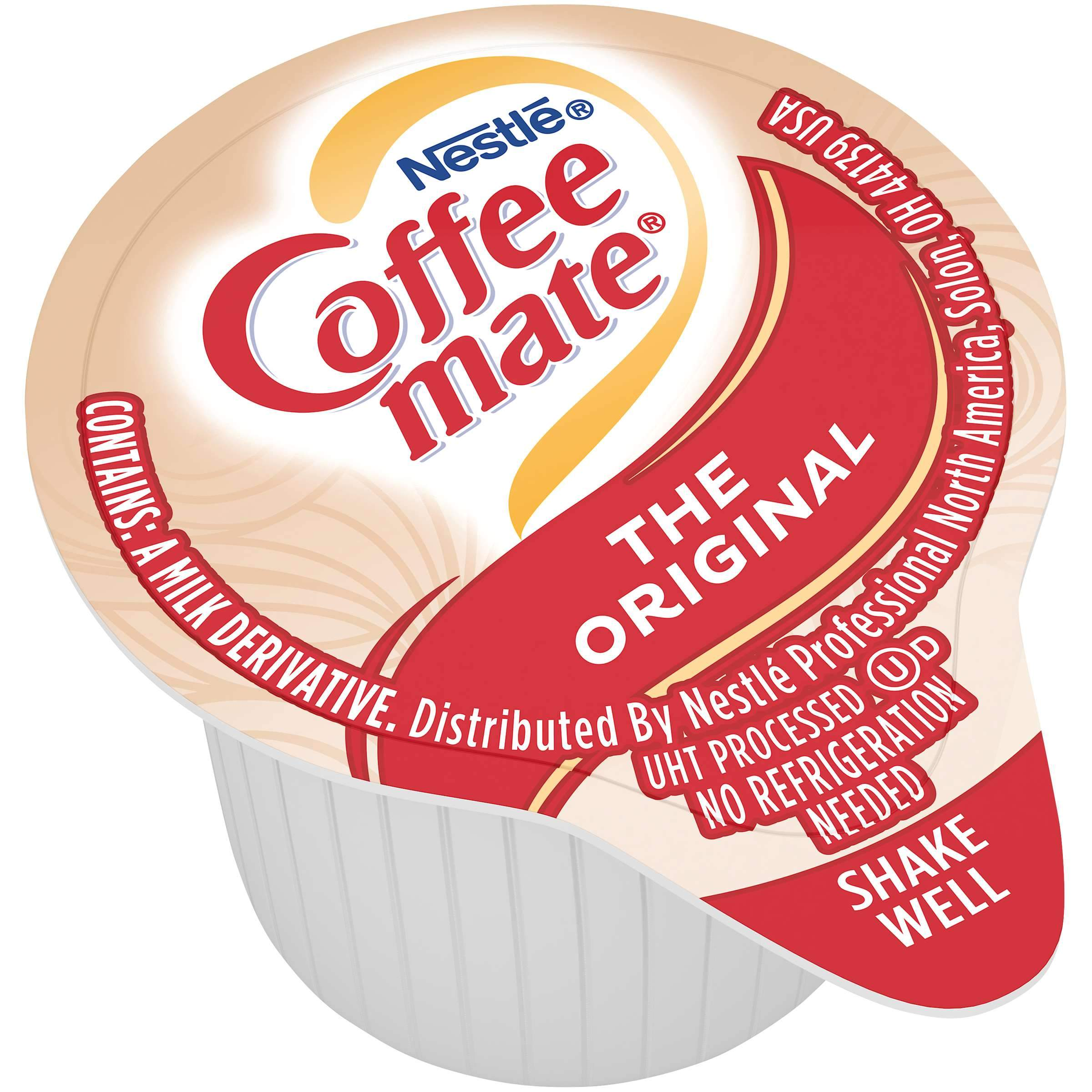 Coffee-Mate Single Serve Liquid Creamer Nestle The Original 180 Singles