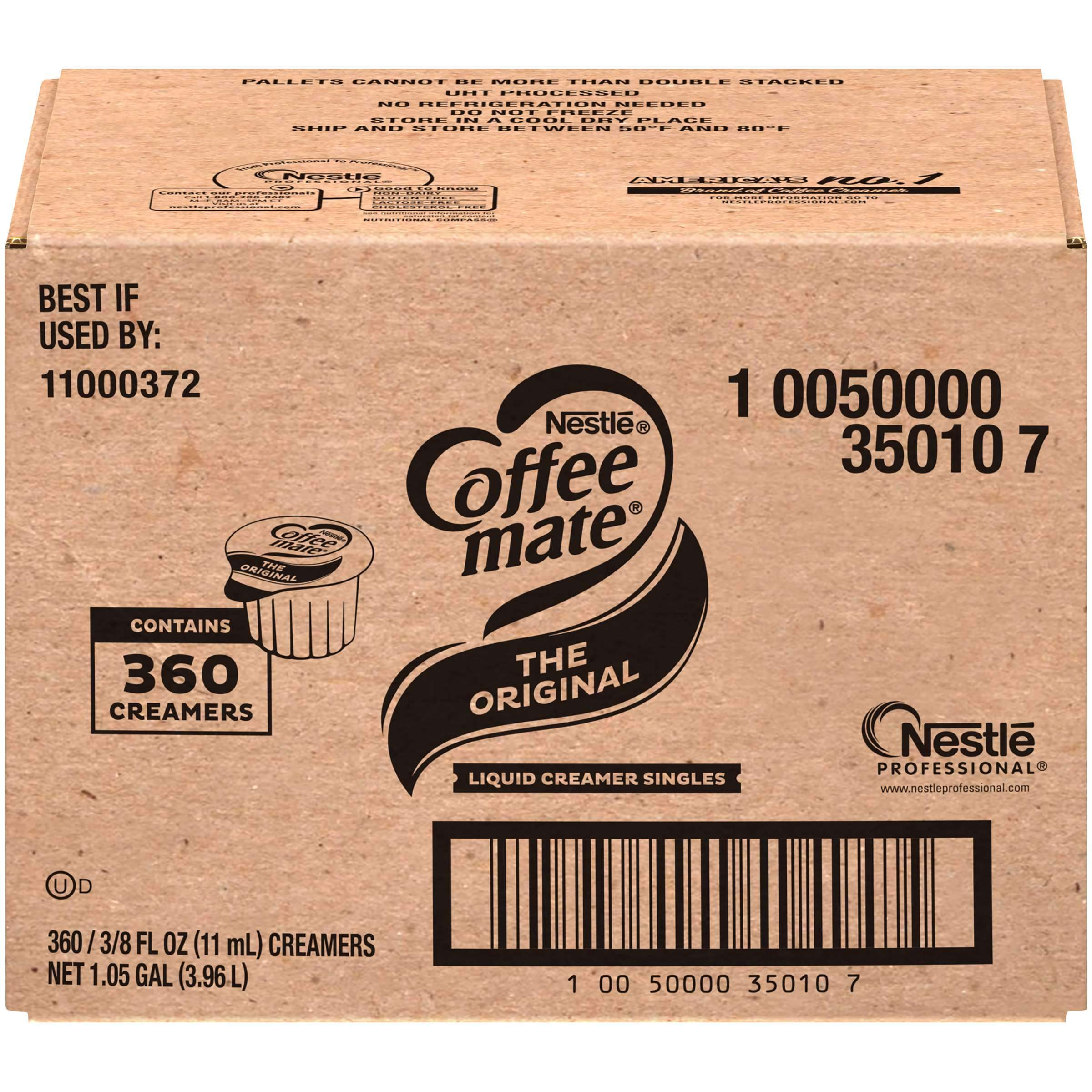 Coffee-Mate Single Serve Liquid Creamer Nestle The Original 360 Singles