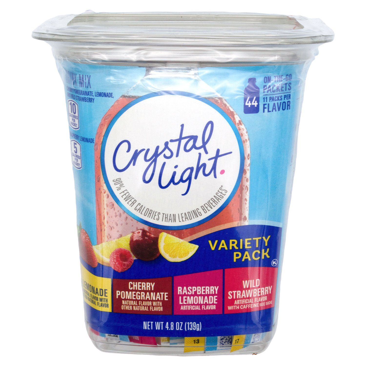 Crytal Light Drink Mixes Crytal Light Variety 44 Count
