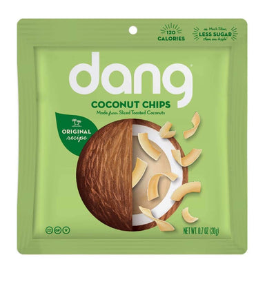 Dang Coconut Chips Dang Foods 0.7 Ounce Original