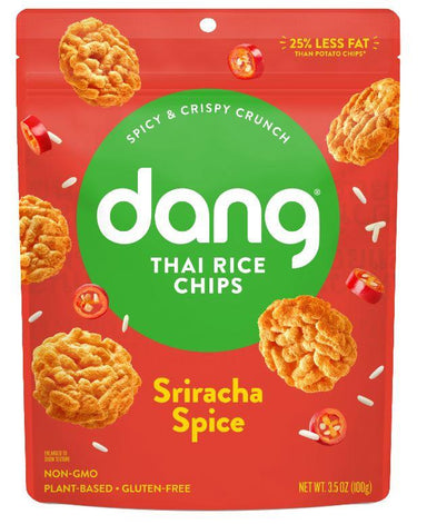 Dang Thai Rice Chips Dang Foods Sriracha Spice 3.5 Ounce