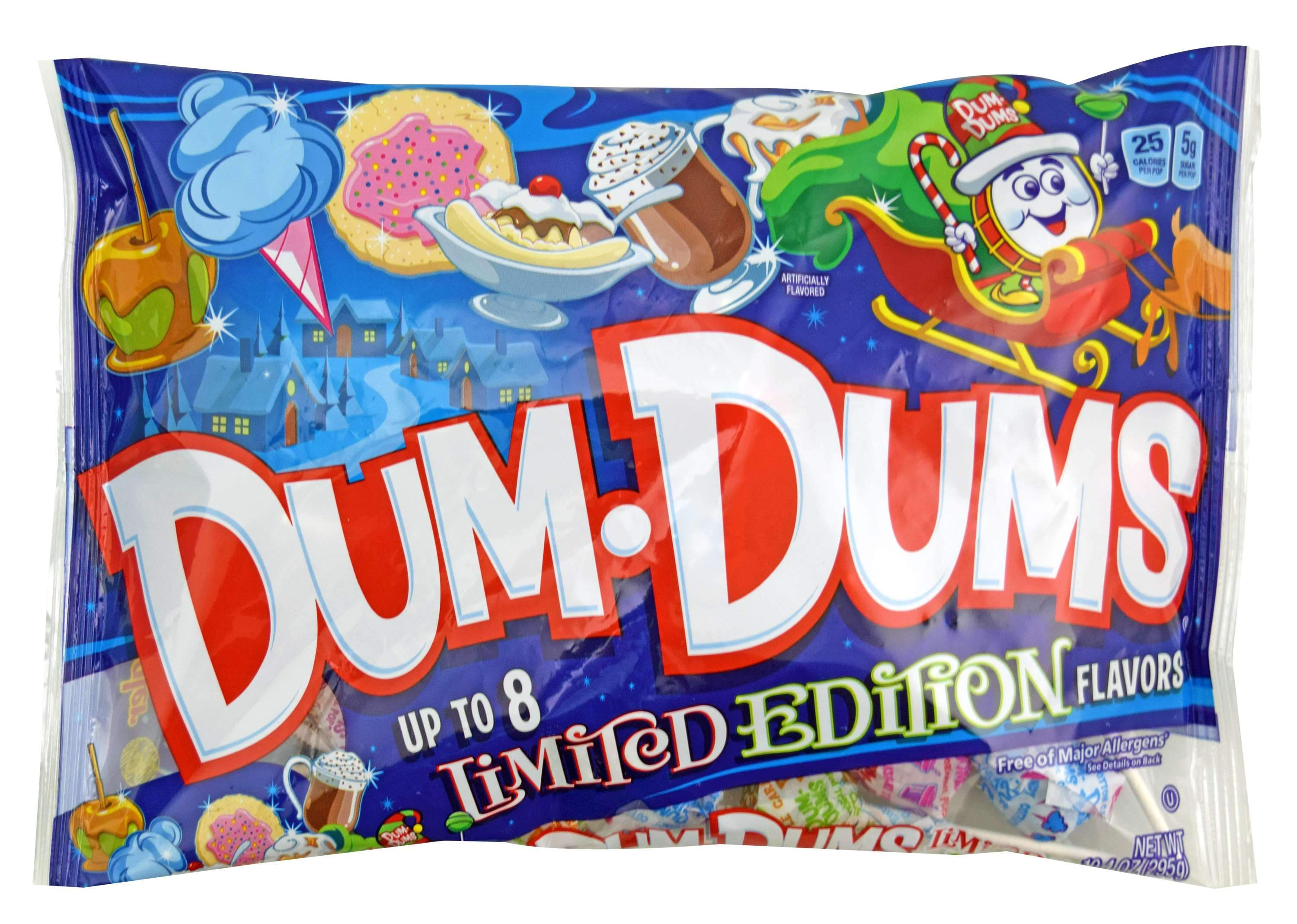 Dum Dums Lollipops Spangler Limited Edition 10.4 Ounce - Holiday