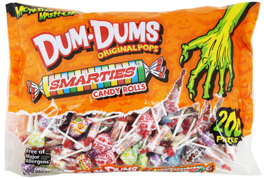 Dum Dums/Smarties Mix Spangler 200 Ct-34.8 Ounce