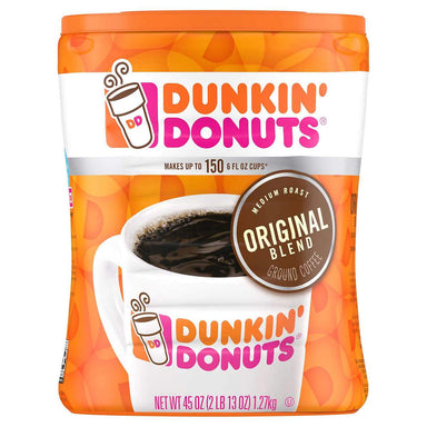 Dunkin' Donuts Ground Coffee Dunkin' Donuts Original 45 Ounce