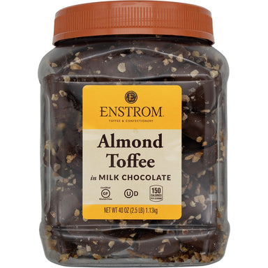 Enstrom Milk Chocolate Almond Toffee Meltable Enstrom 2.5 Pound