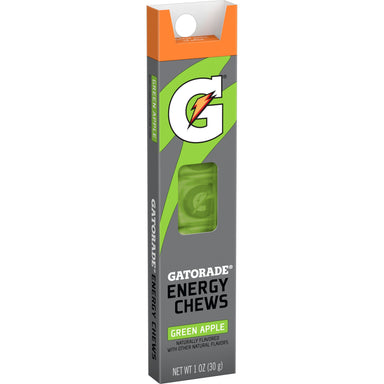 Gatorade Prime Energy Chews Gatorade Green Apple 1 Ounce