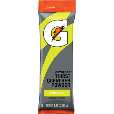 Gatorade Thirst Quencher Powder Packs Gatorade Lemon Lime 1.23 Ounce