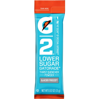 Gatorade Thirst Quencher Powder Packs (Lower Sugar) Gatorade Glacier Freeze 0.52 Ounce