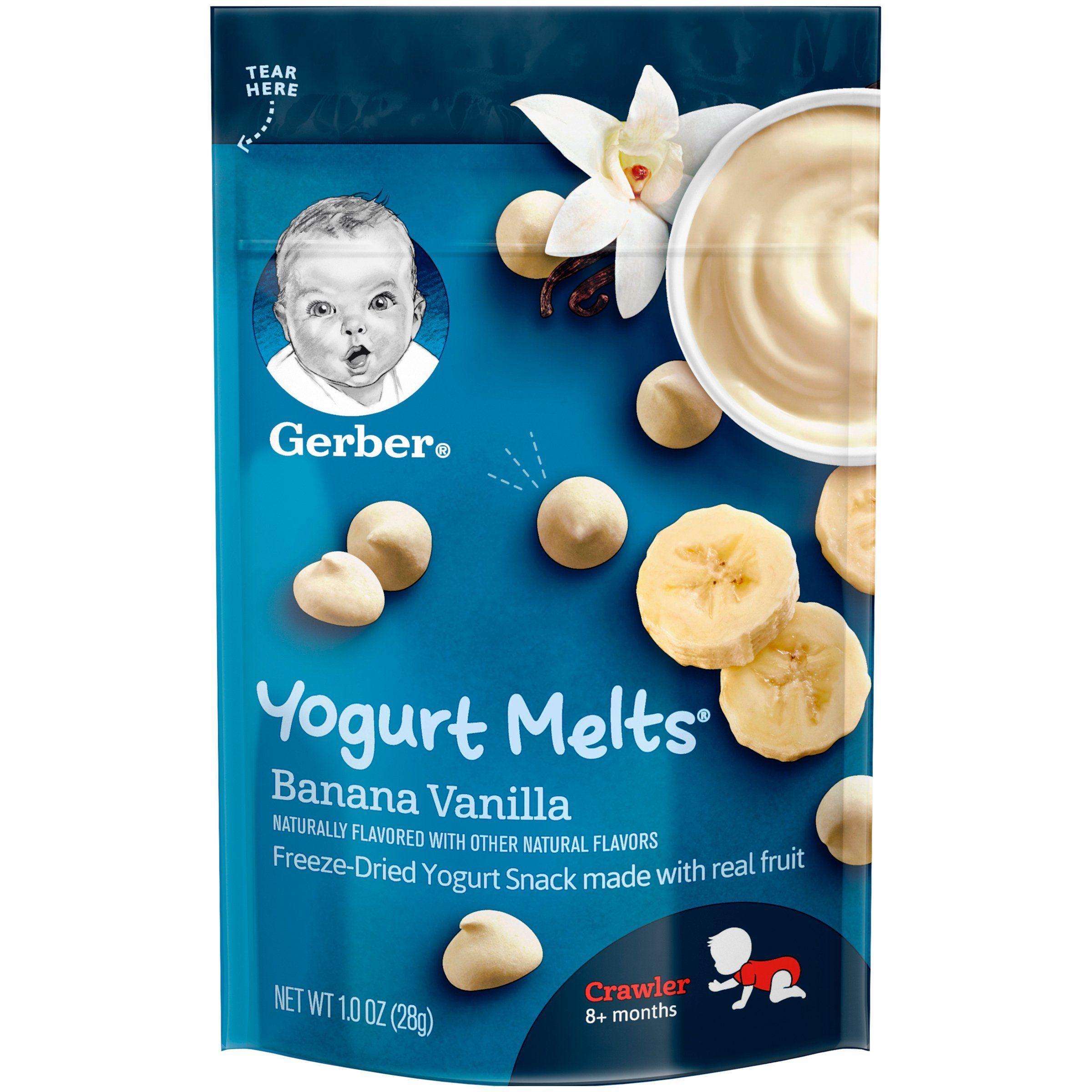 Gerber Melts & Yogurt Gerber