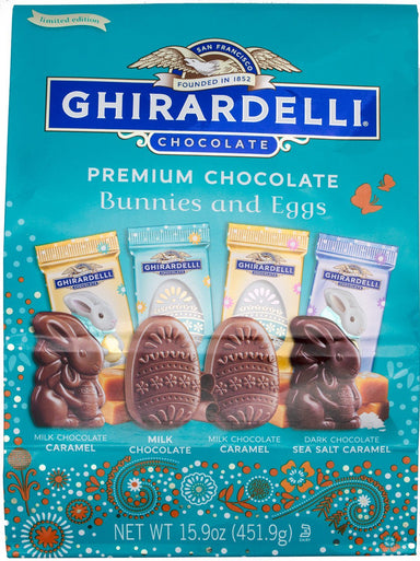 Ghirardelli Chocolate Bunnies and Eggs Ghirardelli Bunnies and Eggs 15.9 Ounce