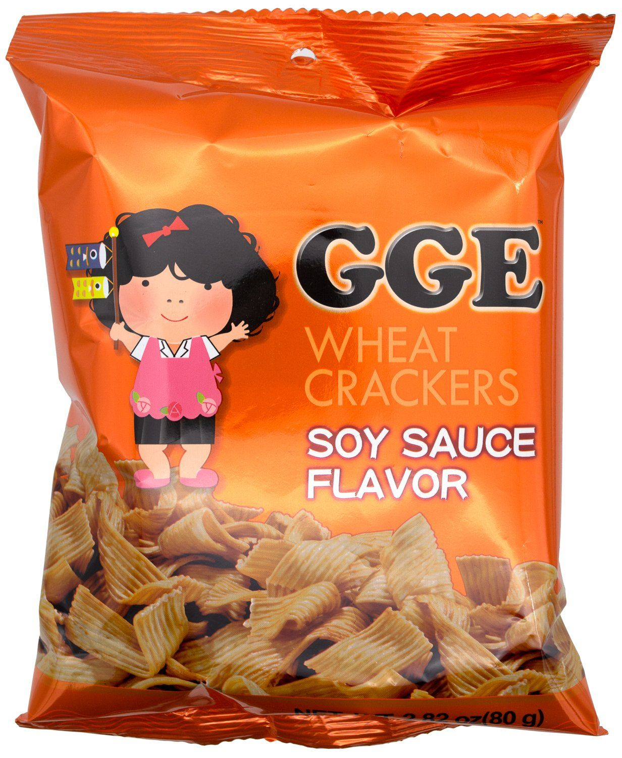 Good Good Eat Crackers Good Good Eat Soy Sauce 2.82 Ounce