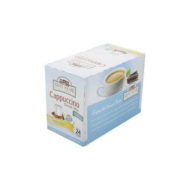 Grove Square Cappuccino Coffee K-Cups Grove Square French Vanilla 24 K-Cups