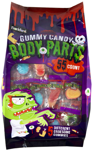 Gummy Body Parts Frankford Candy 14.5 Ounce