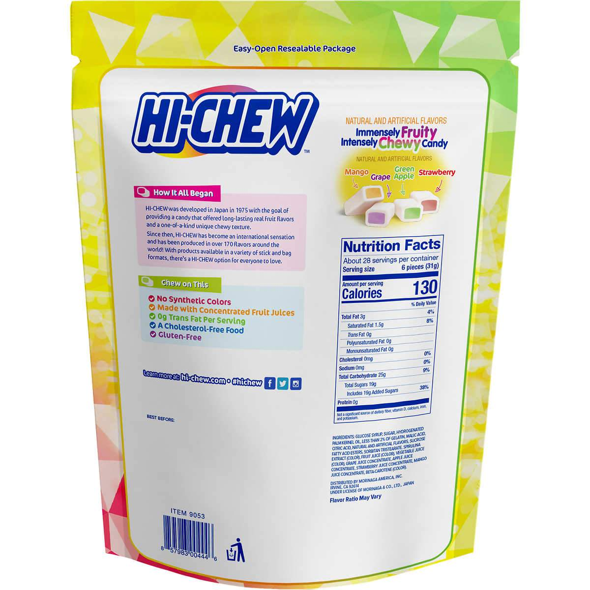 Hi-Chew Fruit Chews Morinaga