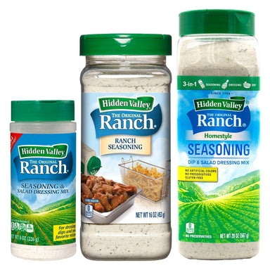 Hidden Valley Ranch Seasoning & Salad Dressing Mix Shaker Hidden Valley