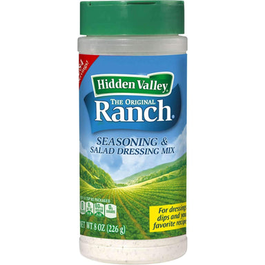 Hidden Valley Ranch Seasoning & Salad Dressing Mix Shaker Hidden Valley Original 8 Ounce