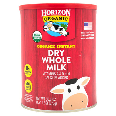Horizon Organic Instant Dry Whole Milk Horizon Organic Original 30.6 Ounce