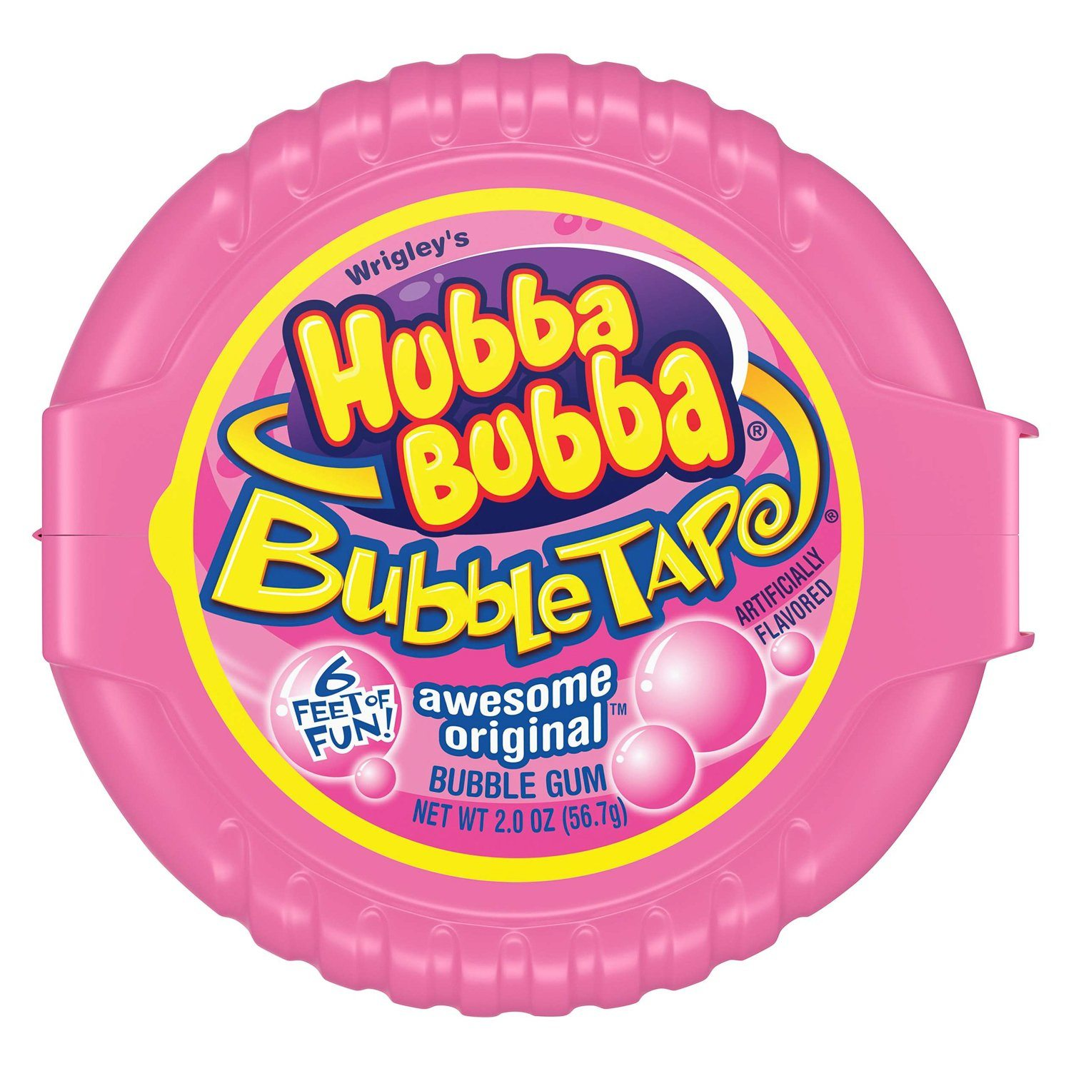 Hubba Bubba Bubble Gum Hubba Bubba Original 2 Ounce