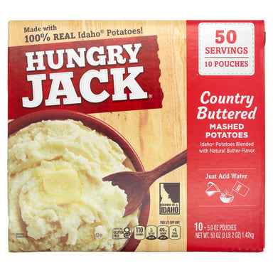 Hungry Jack Mashed Potatoes Hungry Jack Country Buttered 5 Oz-10 Count