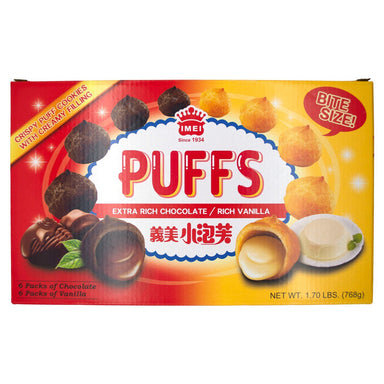 I-Mei Puffs with Creamy Filling I-Mei Variety 27.2 Ounce