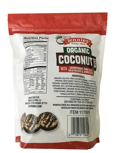 Jennies Organic Coconut Bites Jennies