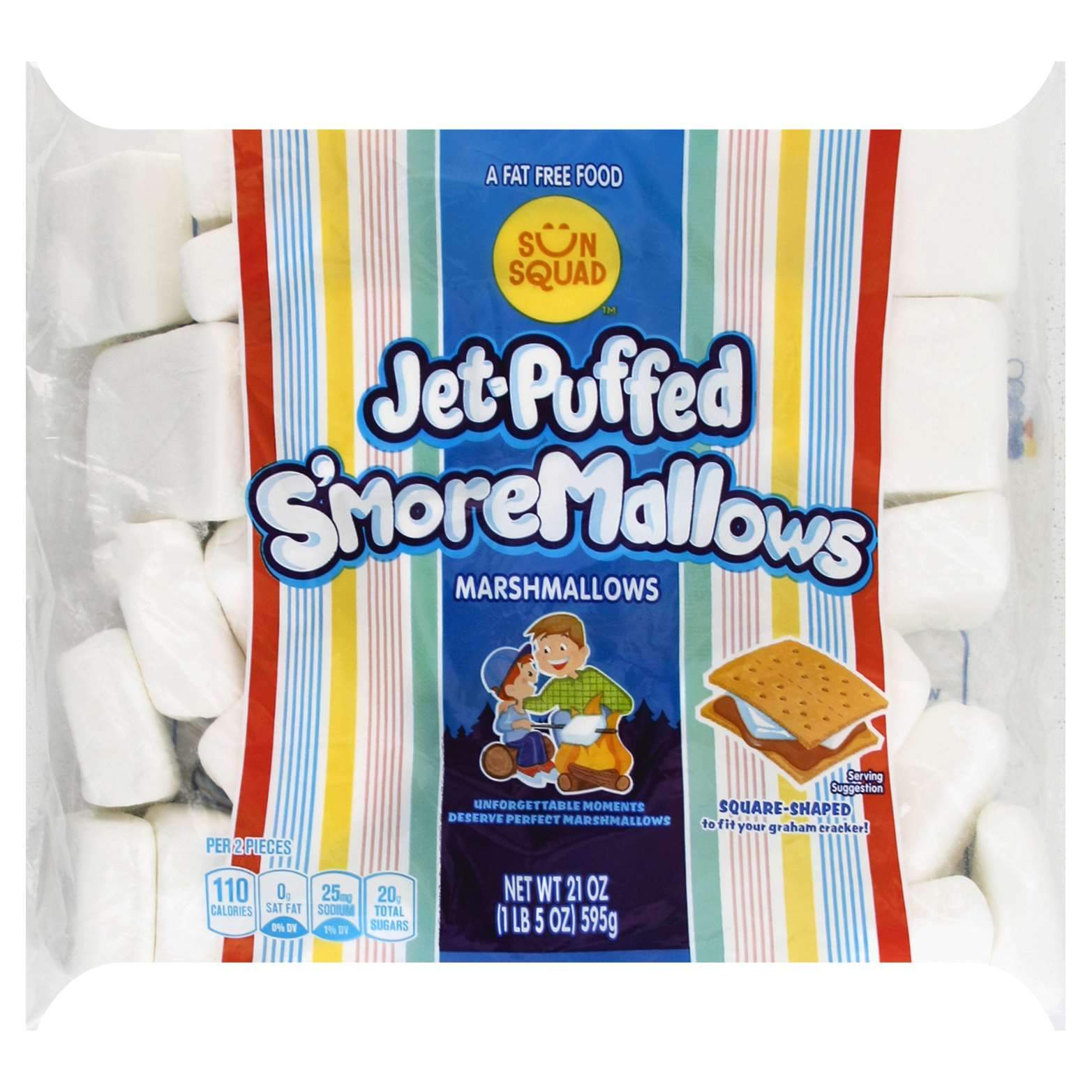 Jet-Puffed Marshmallow Kraft S'more 21 Ounce