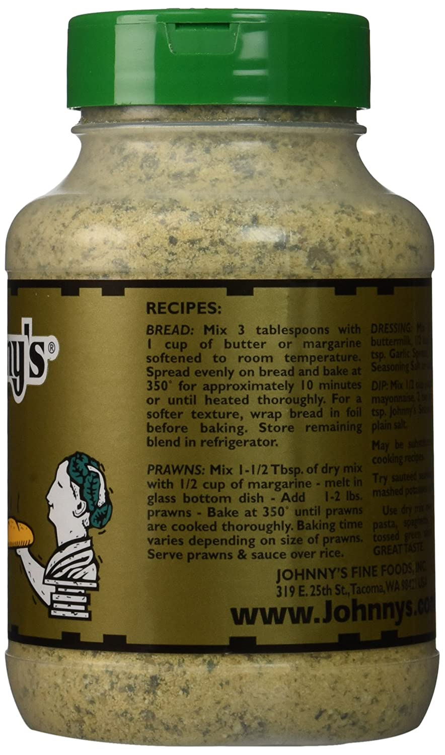 Johnny's Parmesan Garlic (Garlic Spread) Johnny's