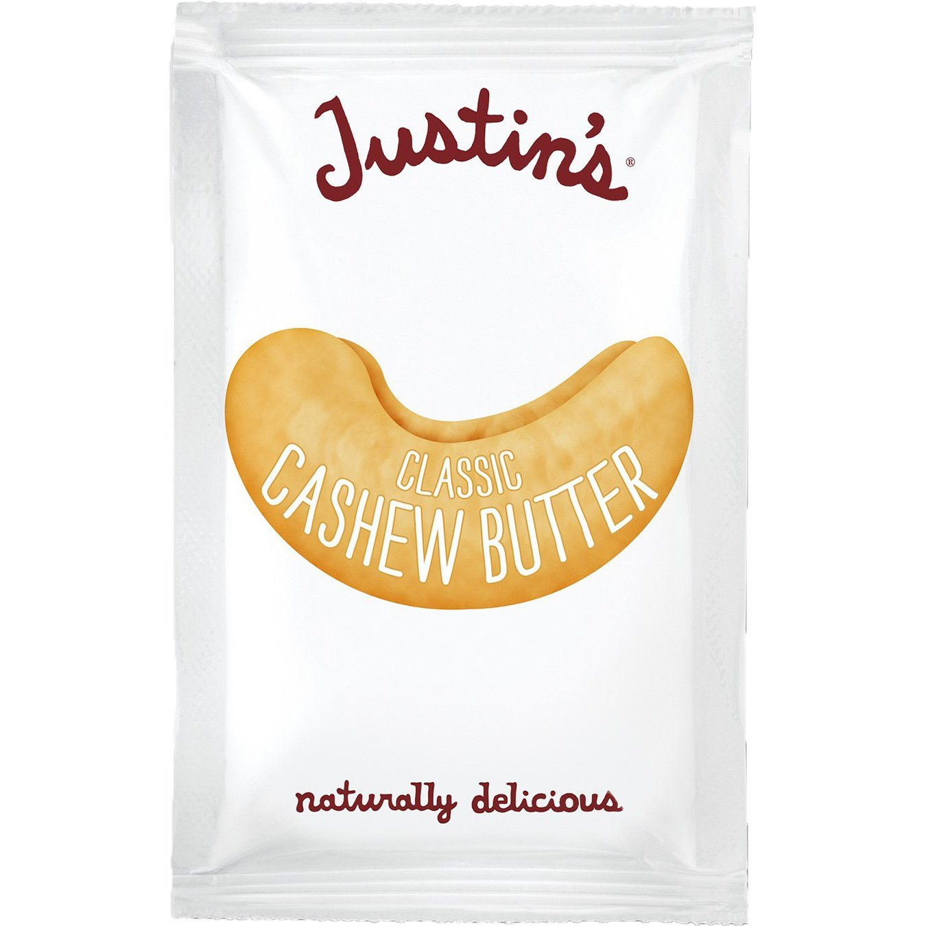Justin's Nut Butter Squeeze Packs Justin's Cashew Butter Classic 1.15 Ounce