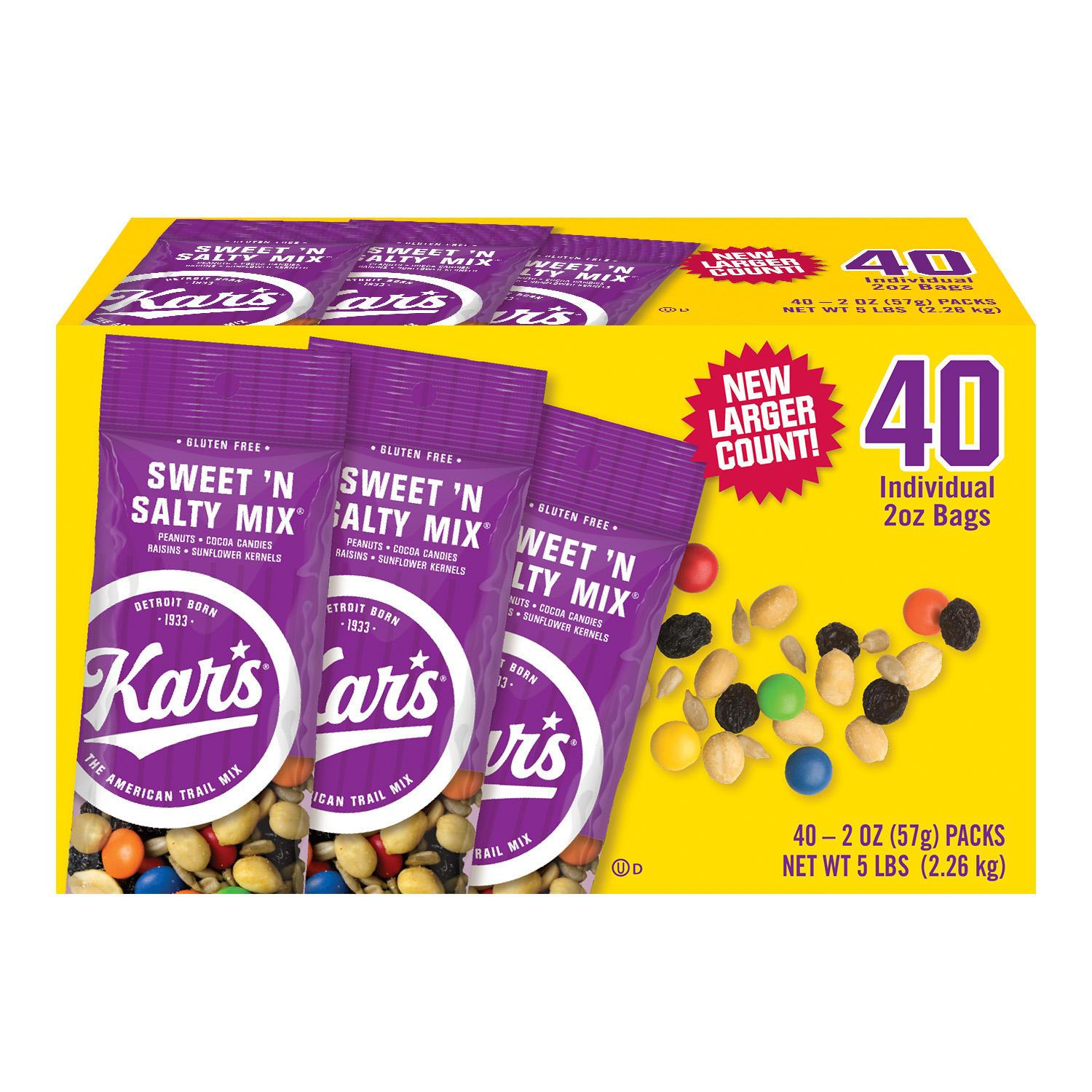 Kar's Sweet 'N Salty Mix Kar's 2 Oz-40 Count