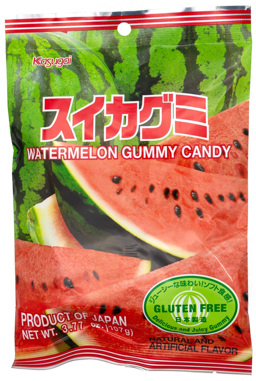 Kasugai Gummy Candy Kasugai Watermelon 3.77 Ounce