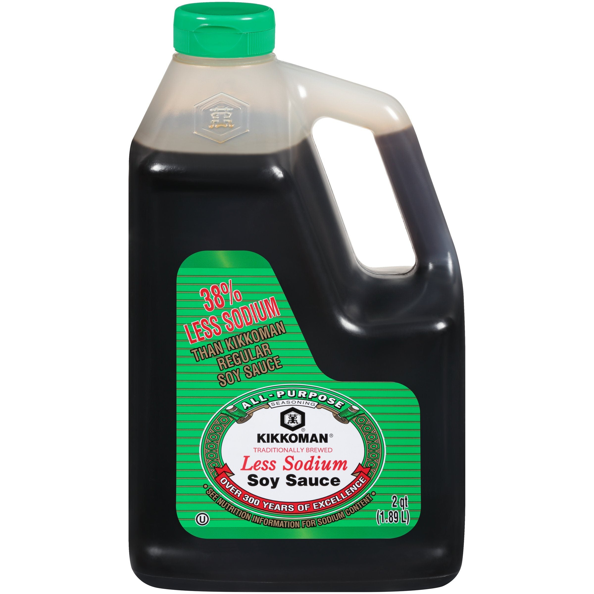 Kikkoman Naturally Brewed Soy Sauce Kikkoman Less Sodium 64 Fluid Ounce