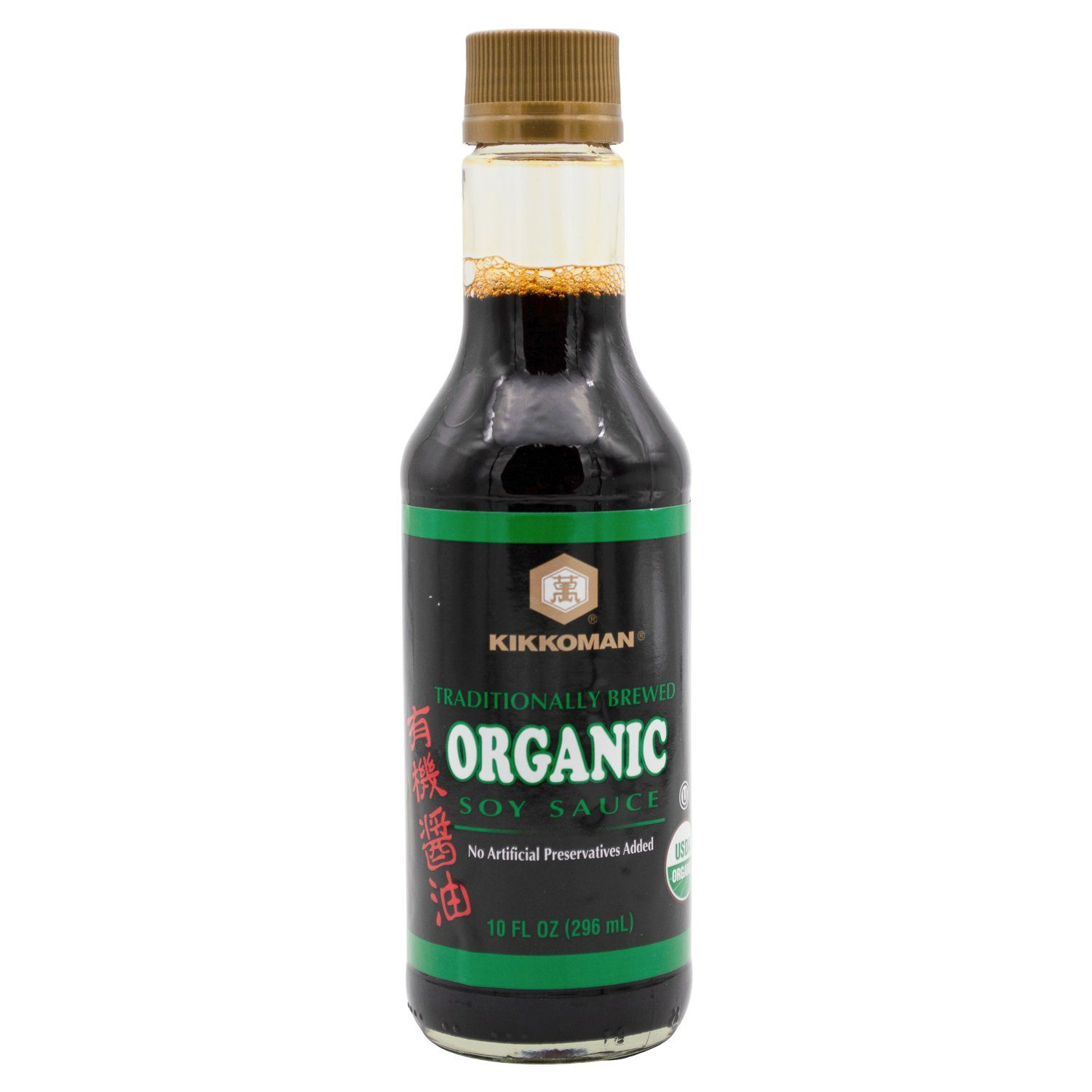 Kikkoman Naturally Brewed Soy Sauce Kikkoman Organic 10 Fluid Ounce