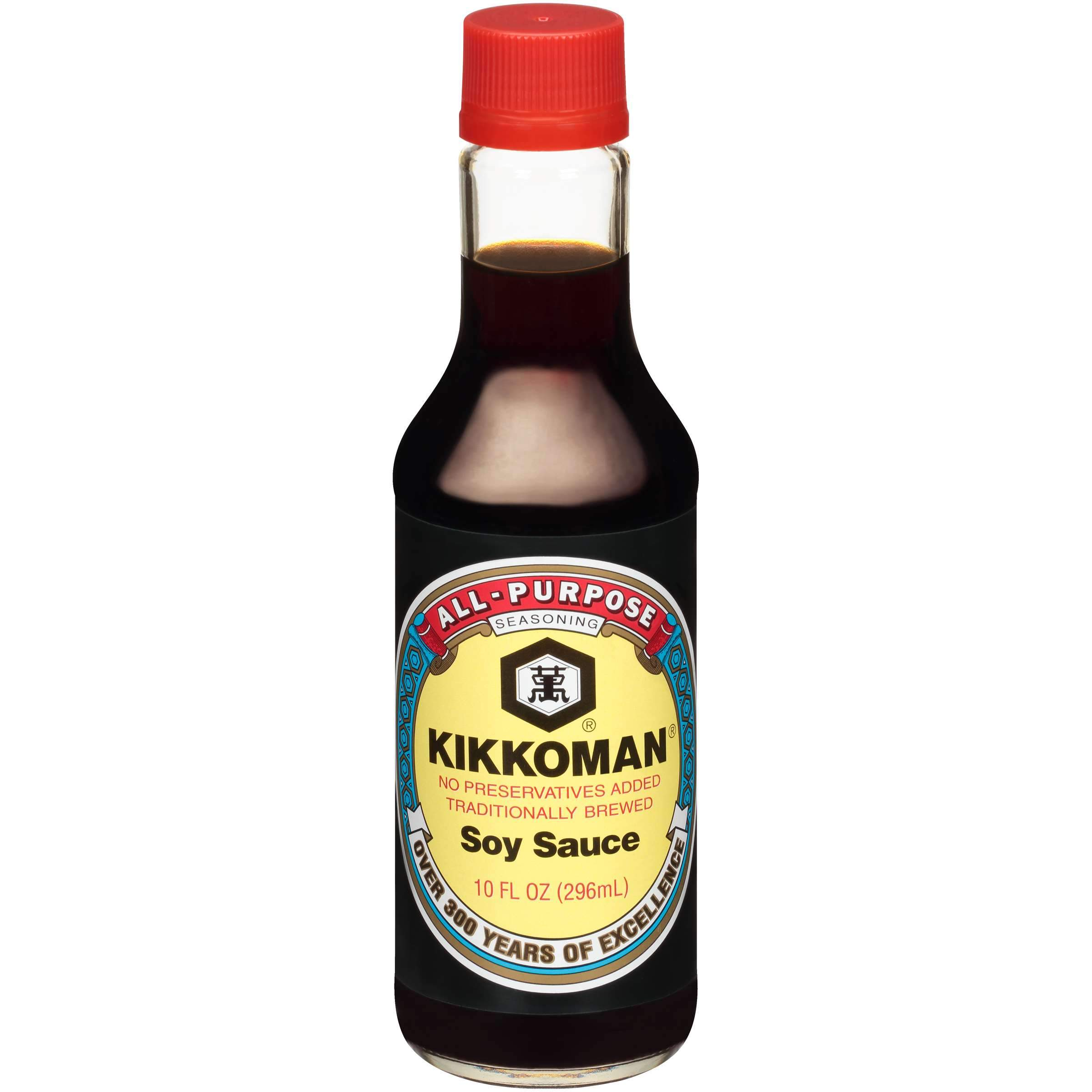 Kikkoman Naturally Brewed Soy Sauce Kikkoman Original 10 Fluid Ounce
