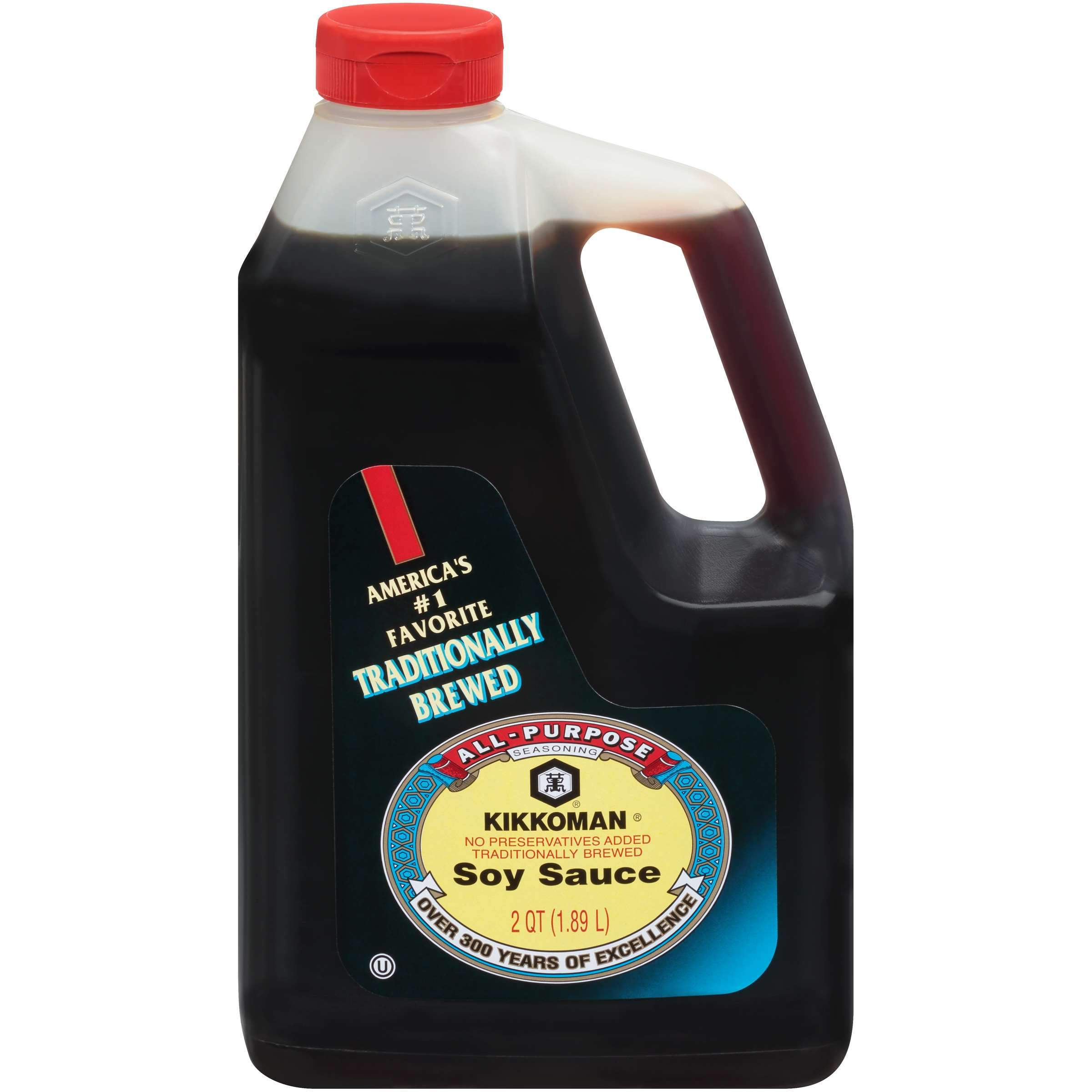 Kikkoman Naturally Brewed Soy Sauce Kikkoman Original 64 Fluid Ounce
