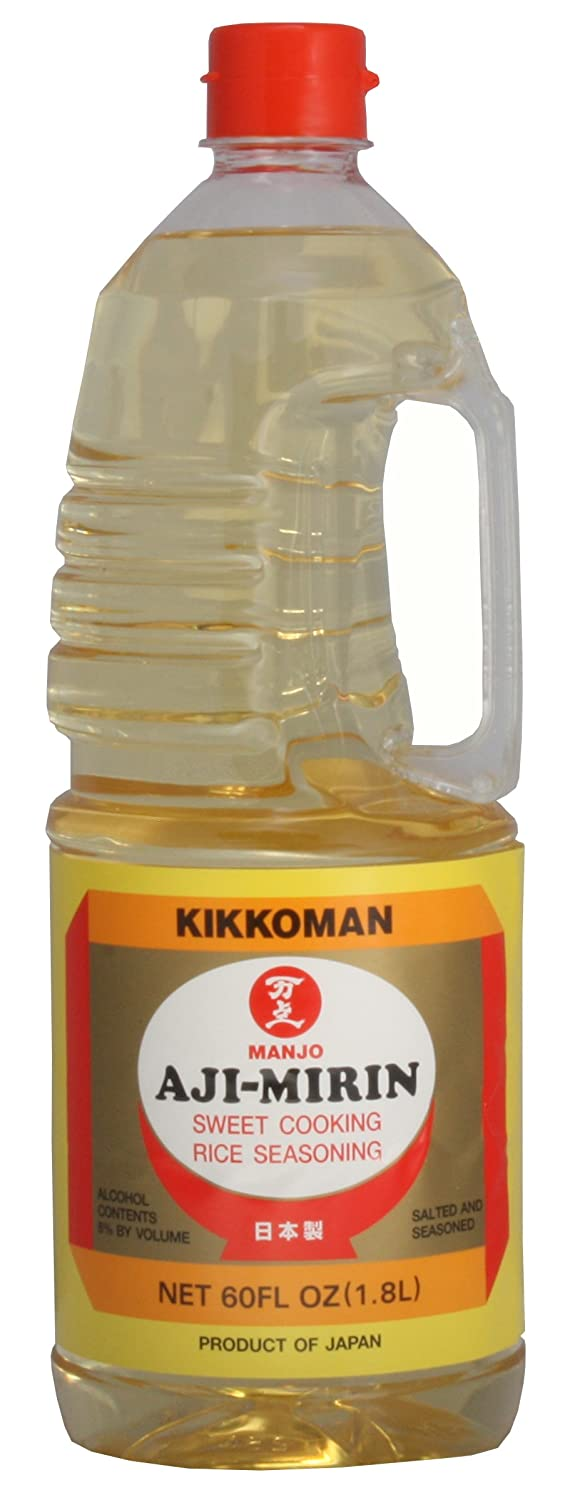 Kikkoman Sweet Cooking Rice Seasoning Kikkoman Aji-Mirin 60 Fluid Ounce