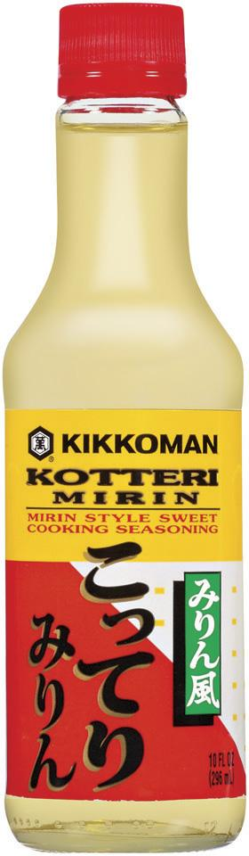 Kikkoman Sweet Cooking Rice Seasoning Kikkoman Kotteri Mirin 10 Fluid Ounce