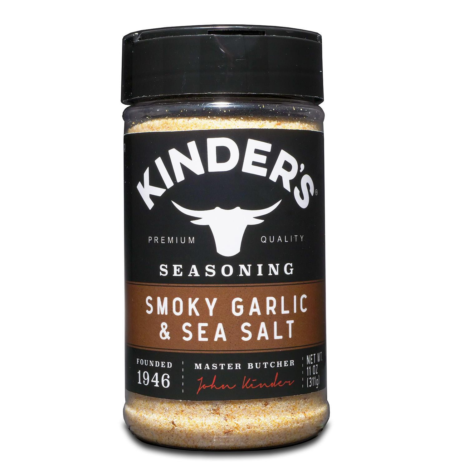 KINDER'S Seasonings KINDER'S Smoky Garlic & Sea Salt 11 Ounce