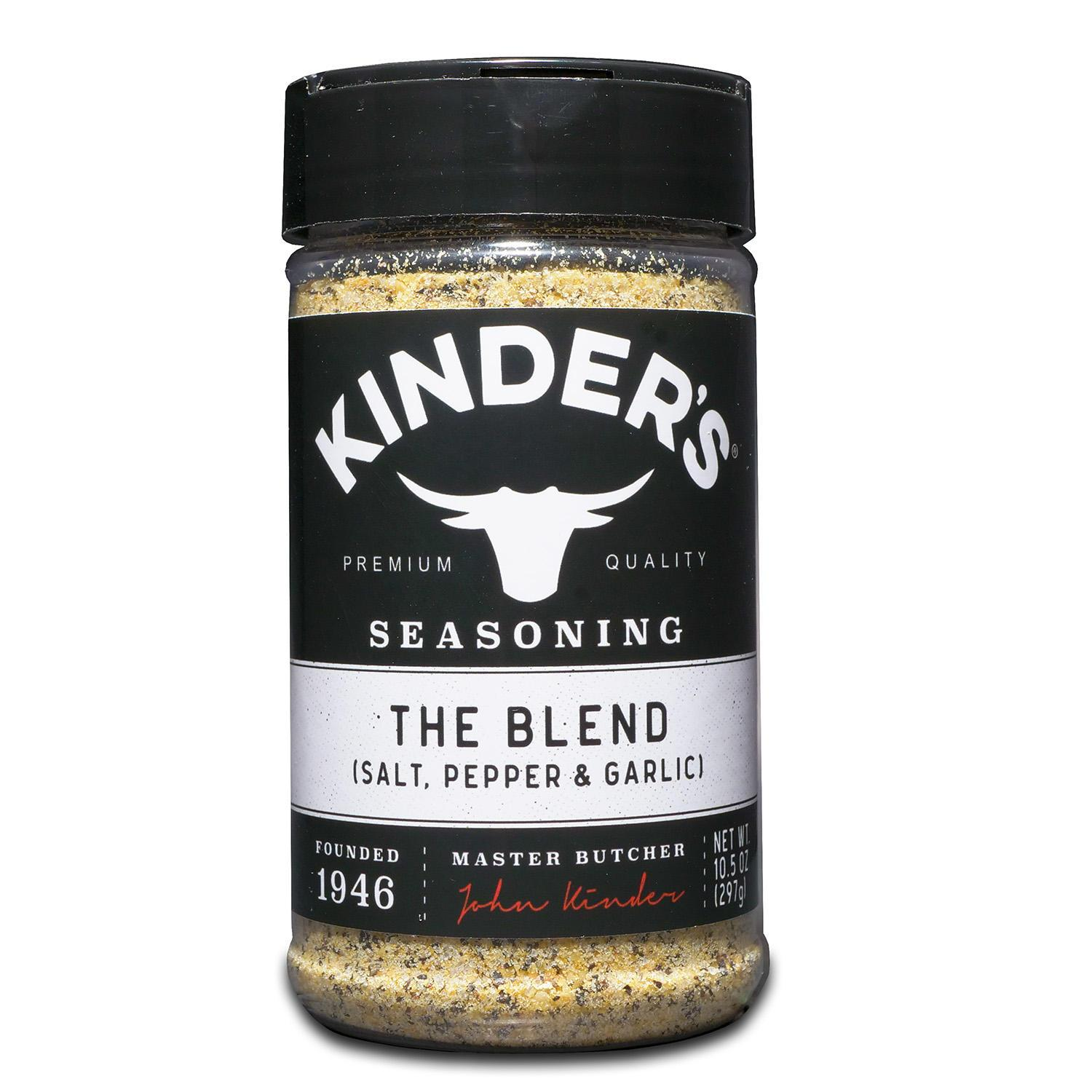 KINDER'S Seasonings KINDER'S The Blend (Salt, Pepper & Garlic) 10.5 Ounce