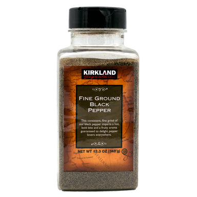 Kirkland Signature Black Pepper Kirkland Signature Fine Ground 12.3 Ounce