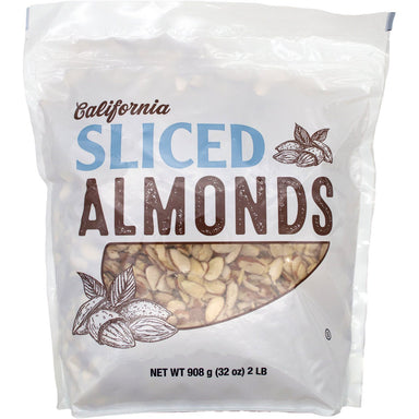 Kirkland Signature California Sliced Almonds Kirkland Signature 32 Ounce