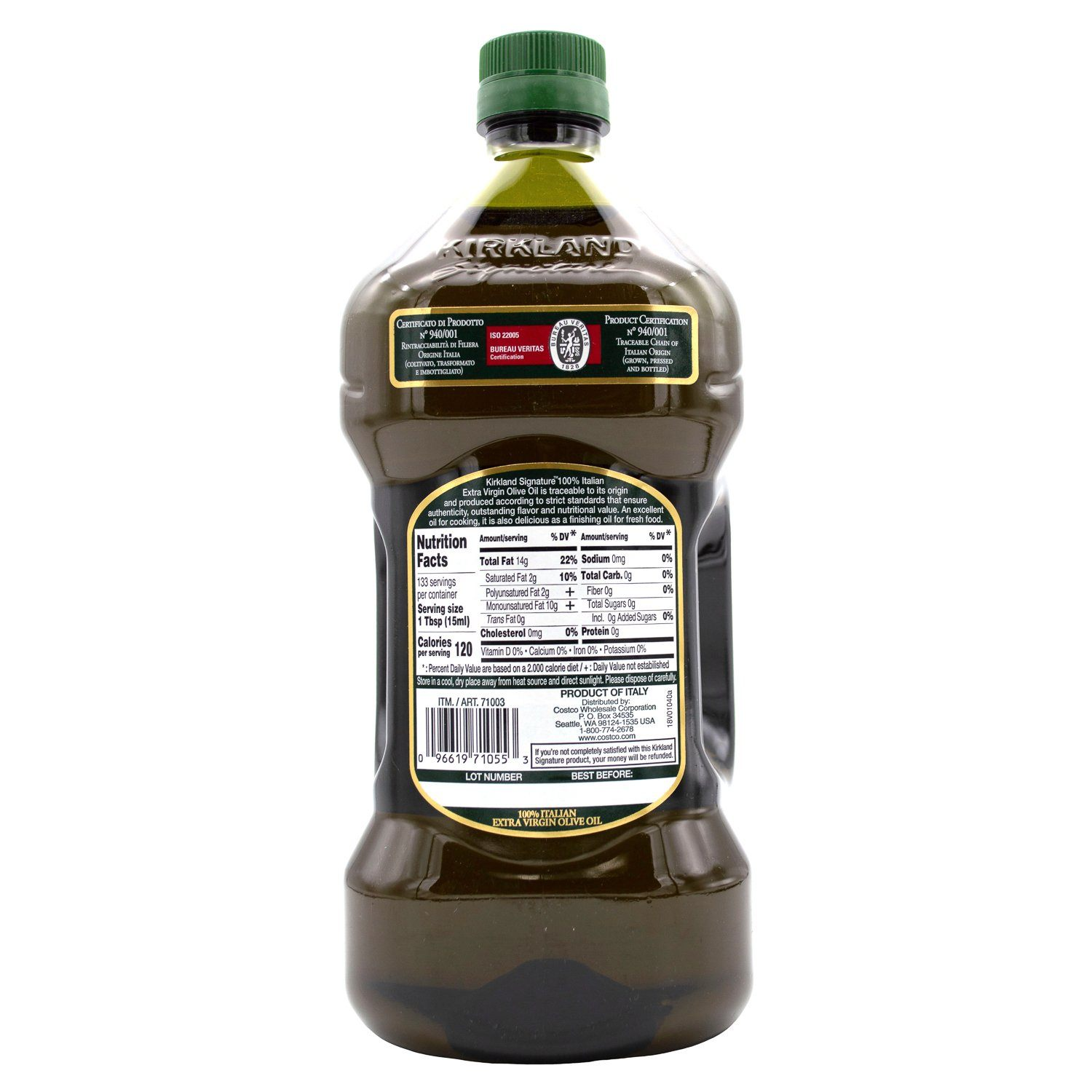 Kirkland Signature Extra Virgin Olive Oil Kirkland Signature