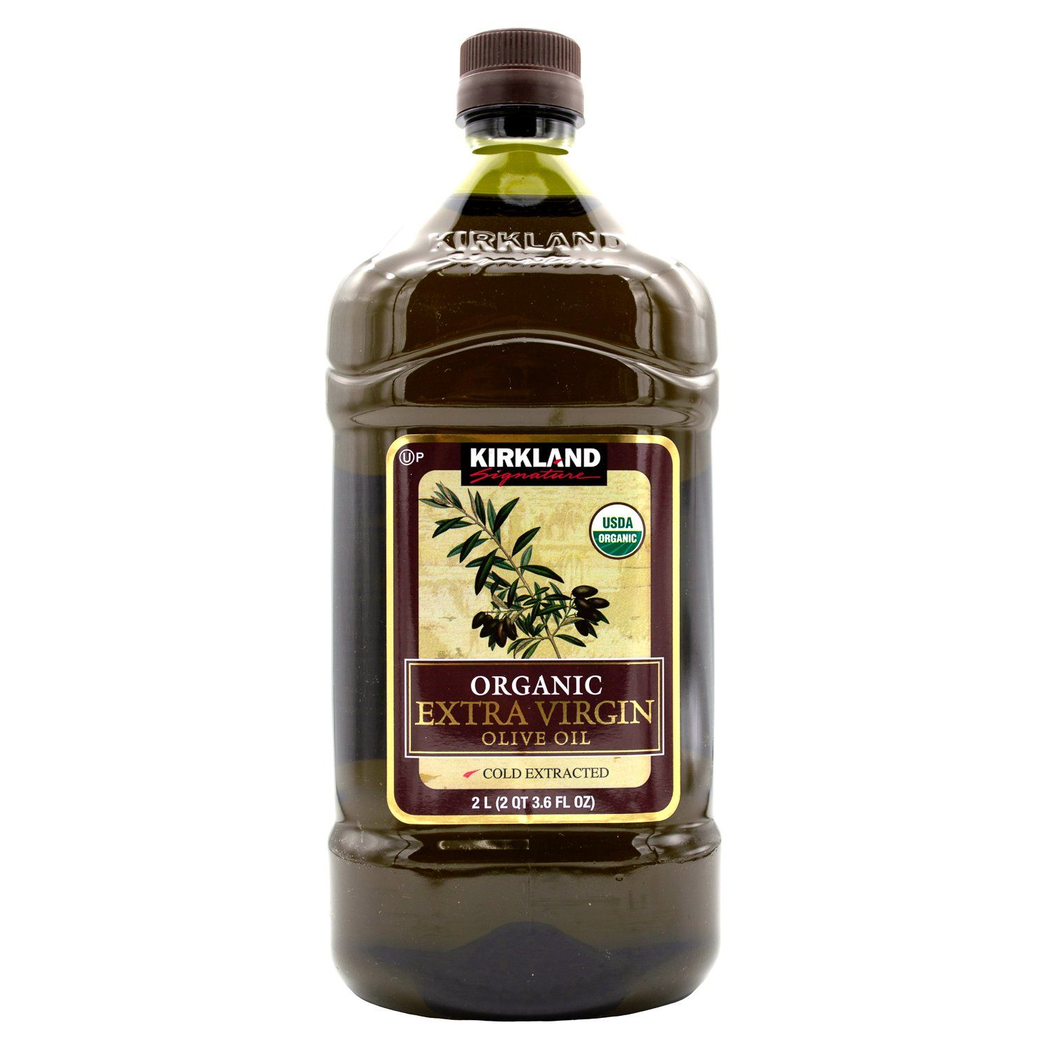 Kirkland Signature Extra Virgin Olive Oil Kirkland Signature Organic 67.6 Fluid Ounce