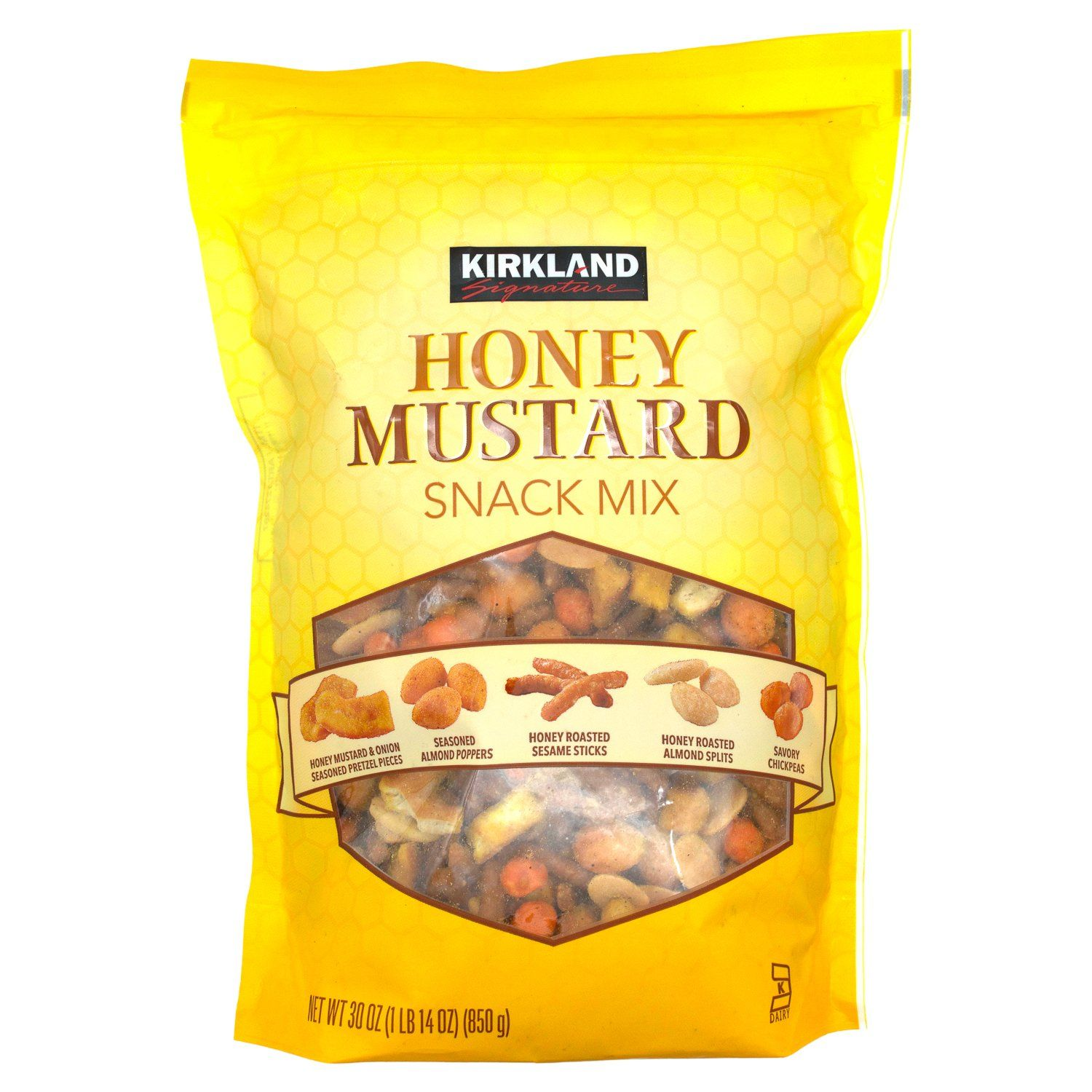 Kirkland Signature Honey Mustard Snack Mix Kirkland Signature 30 Ounce