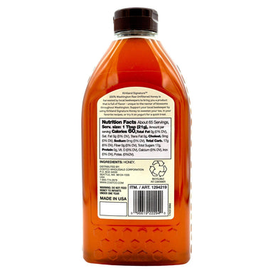 Kirkland Signature Raw Unfiltered Honey Kirkland Signature