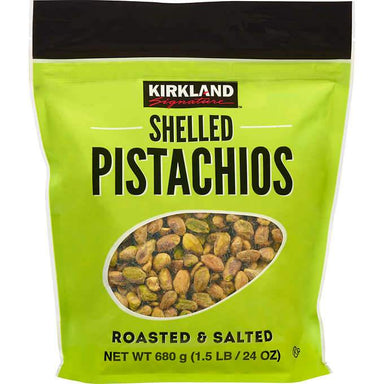 Kirkland Signature Shelled Pistachios, Roasted & Salted, 24 Ounce Kirkland Signature