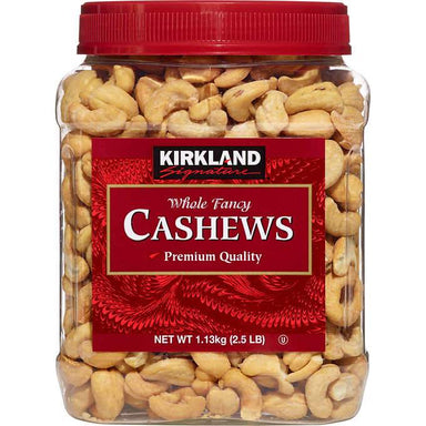 Kirkland Signature Whole Cashews Kirkland Signature Salted 40 Ounce