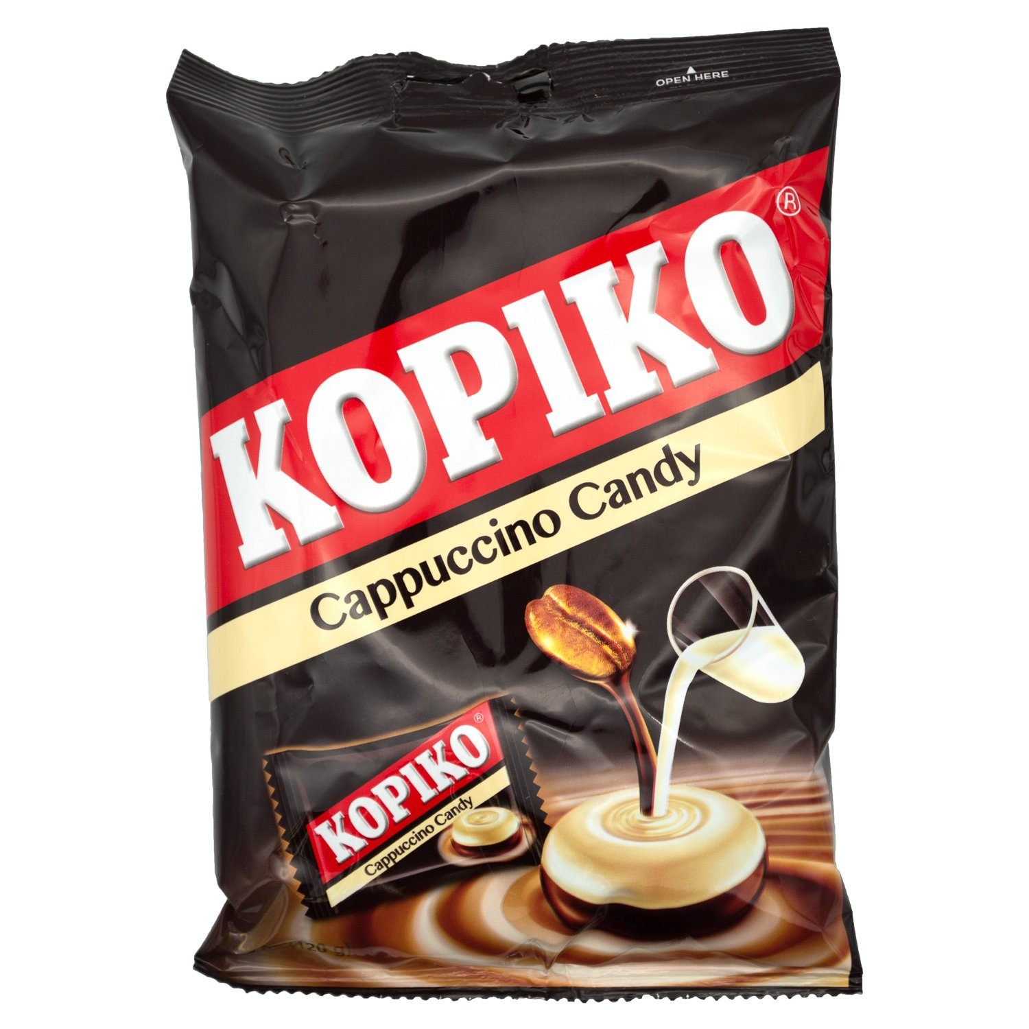 Kopiko Coffee Candy Kopiko Cappuccino 4.23 Ounce